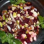 recette Salade de betteraves à la pommes verte