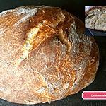recette Pain croustillant à la bière blanche au citron  ( cuisson cocotte )