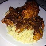 recette Tajine de poulet aux oignons