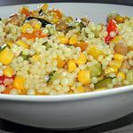recette Couscous perlé végétarien