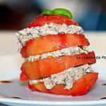 recette Tomate borsalino à la sardine