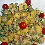 recette Salade de bulots aux pommes de terre nouvelles