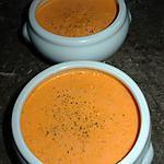 Crème de poivrons.