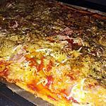 recette Pizza maison jambon poivron