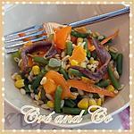 recette Salade jaune et orange