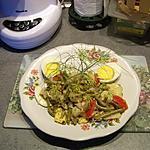 recette Salade mixe de haricots verts