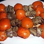 recette Brochettes de canard aux abricots