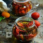 recette Conserves de tomates cocktail à l'huile (tomates confites)
