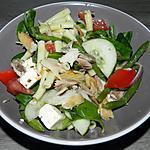 recette Salade de blé aux pâtes et maquereau fumé