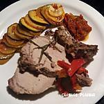recette Carré de porc au romarin et pastis