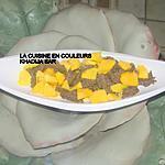 recette Emincé de boeuf à la mangue