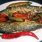 recette Maquereaux frits aux poivrons et piments