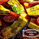 recette Tarte fine aubergine tomate pesto