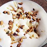 recette Mousse au chocolat blanc de Alain ducasse