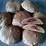 cookies Bio au beurre de cacahuètes fourrés chocolat