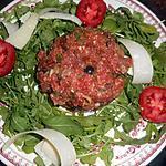 recette Steak tartare à l italienne