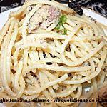 recette Spaghettoni  à la sicilienne