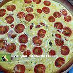 recette Quiche oignons et tomates cerise
