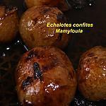 recette Echalotes confites
