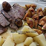 recette Magret de canard aux figues fraiches