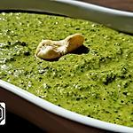 recette Pesto de vert de blettes et persil aux noix de cajou