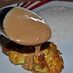 recette Blanc de Poulet  sauce Satay