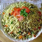 recette Salade de couscous