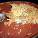 recette Parmentier de cabillaud à la carotte