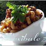 recette Macaroni à la viande simple et délicieux