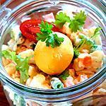 recette Macédoine maison au jambon et oeuf