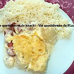 recette Gratin de quenelles et de Knacki