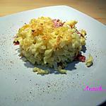 recette gratin de pâtes à la béchamel