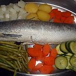 recette Merlu et ses légumes a l aioli