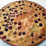 recette Gâteau aux framboises et aux amandes