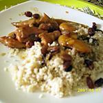 recette Tajine de poulet aux abricots et raisins secs