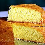 recette Moelleux saveur citron de LA PATELIERE