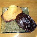 recette Madeleines au chocolat