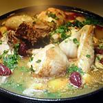 recette Tajine de poulet aux citrons confits