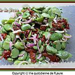 recette Côtes d'agneau, salade de fèves