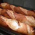 recette Baguettes de pain croustillantes maison un pur régal