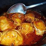 recette Mijoté de poulet au cèpes