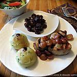 recette Filet de porc bbq, sauce aux raisins