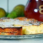 recette Gâteau à la ricotta et poires, sans farine et sans beurre!