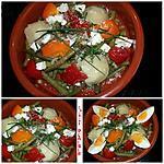recette Poelée de haricots verts, tomates et pommes de terre