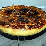 recette Tarte couverte aux pommes et crème pâtissière