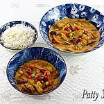 recette Bœuf au Curry Rouge Thai