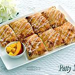 recette Feuilletés Pêche et Miel