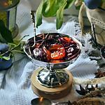 recette Compotée de prunes quetsches au Floc de Gascogne