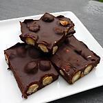 recette carré gourmand noisettes fraîches et chocolat