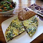 recette Omelette de poisson gratinée